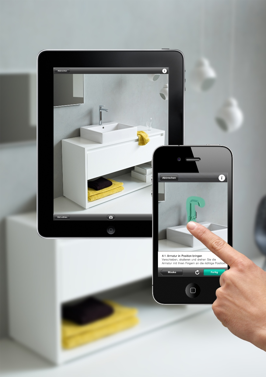 HansgroheAthome_iPad_iPhone