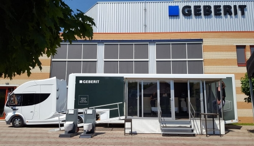 Geberit AquaClean douchewc roadshow