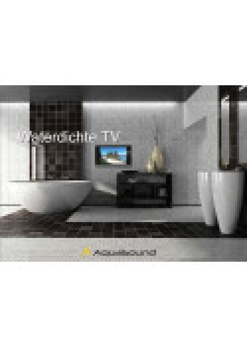 Aquasound badkamer tv